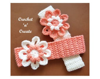 Crochet Adult Hairband Crochet Pattern (DOWNLOAD) CNC106