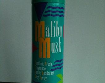 Malibu Musk empty bottle