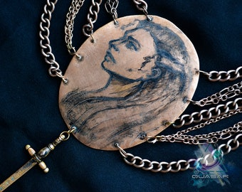 """Necklace """"Lagertha"""" 
