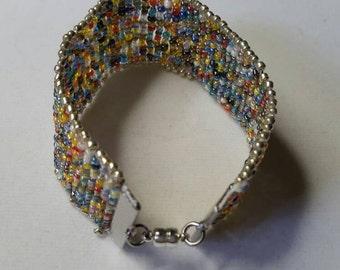 Multicolored Cuff Bracelet