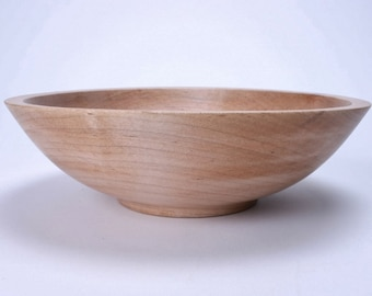"""Southern Maple Wooden Bowl #1232 9 3/8"""" X 2 3/4"""""""