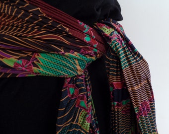 Pleated African Sash