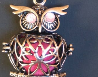 Beautiful OWL Fragrance Diffuser necklace