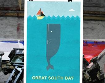 Great South Bay - Long Island New York Print
