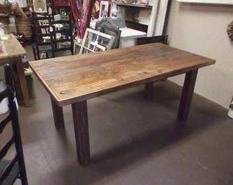 Superbe Farmhouse Table, Wood Table, , Reclaimed Wood Table, Wood Dining Table