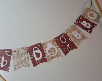 "Cake Bunting, ""I Do BBQ"", Wedding, Bridal Shower, Couples Shower,  Cake Topper, Paper banner"