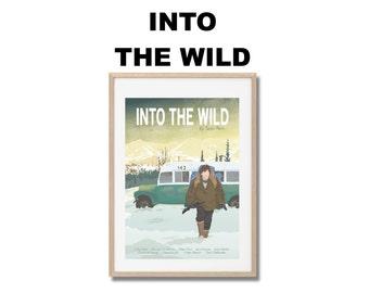Into The Wild Movie Print - Poster Sean Penn A3