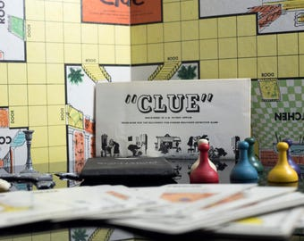 1956 Clue Board Game