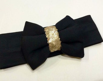 Basic black bow