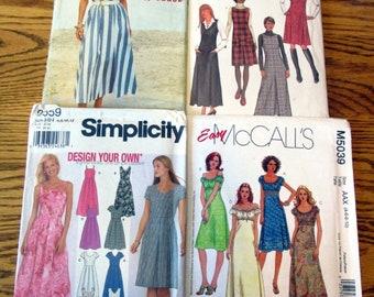 Misses Jumpers, Tunics & Dresses, sizes 4 to 16 - UNCUT