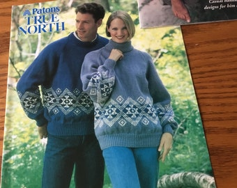 PATON'S TRUE NORTH - Knitting Pattern Only