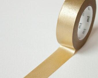 Gold Washi Tape • MT Masking Tape Metallic Washi Tape • Washi Tape UK • Japanese stationery • Gold