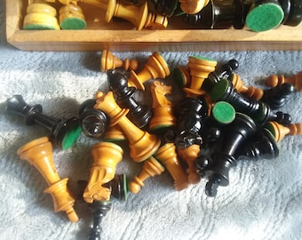 Chess pieces galore !!!