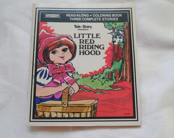 Tele- Story Presents Little Red Riding Hood Three Complete Stories 1980