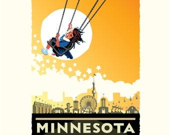 Landmark MN | Minnesota State Fair Yellow by Mark Herman