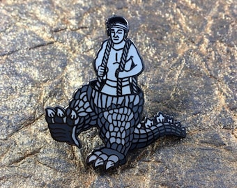 Godzilla - Lapel Pin - Man in Suit - Haruo Nakajim - Gojira
