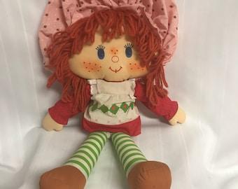 Vintage Strawberry Shortcake Doll Original Kenner 1980