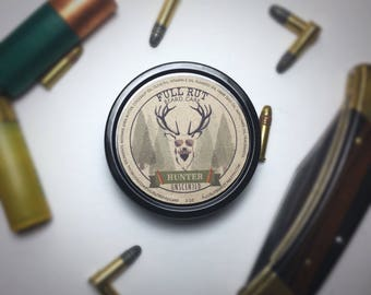 Unscented Hunter Handmade Beard Balm All Natural Beard Salve Wax Styling Conditioner Pomade 2oz