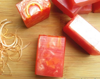 Orange Sweet Organic Quality Handmade Soap from Crafting with Beth
