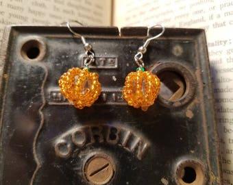Pumpkin Earring
