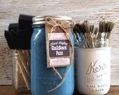 Handmade ChalkBoard Paint, Gypsy Teal, Painted Furniture, Lake House Decor, Lake Sign, DIY Wood Sign, Lake Rules, Sea Shore Decor, Lifeguard