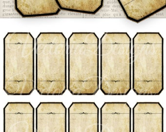 Blank Apothecary Labels Magick Potion Ingredient Herb Label Template
