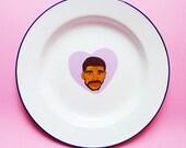 Drake est Bae plaque