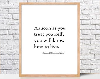 Printable Johann Wolfgang von Goethe Quote,inspirational quote,Printable Wall Art Prints,Instant Download Printable Art,Digital Download