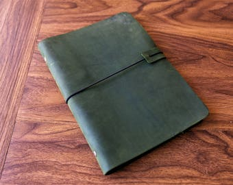 Personalized Black Midori travelers notebook /Leather Journal /Leather Note Book/Passport Notebook