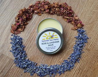 Rose and Lavender Salve