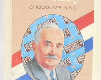 Vintage 1971 Copyright, Milton Hershey (32) Chocolate King