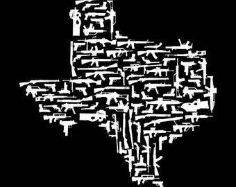 Texas Gun State Shirts