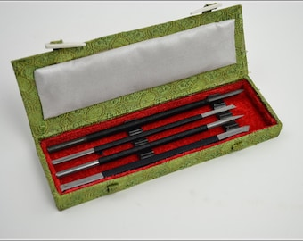 Free Shipping Chinese Calligraphy Material  Set Carbon Steel Seal Carving Knife Seal Burin Seal Graver - 4 Piece / - 0008