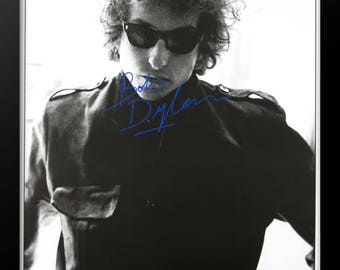 Bob Dylan Signed Poster