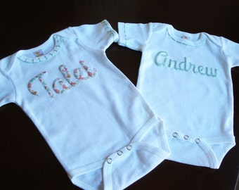 Baby Shower, Baby Gift, Baby Shower Gift, Baby Clothes, Personalized Baby, Personalized Gift, Coming Home Outfit, Twin Baby Gift