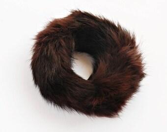 Brown Fur Cuff