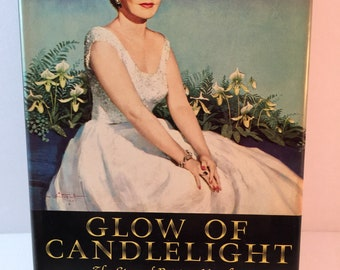 Vintage Book-GLOW OF CANDLELIGHT The Story of Patricia Murphy-1961-1st Edition-Signed-1960s Entertaining-Food-Garden-Hostess