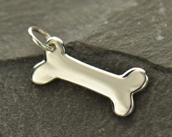 Dog bone charm etsy quick view dog bone aloadofball Images