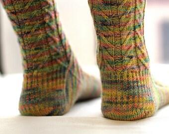Harper Socks PDF Pattern