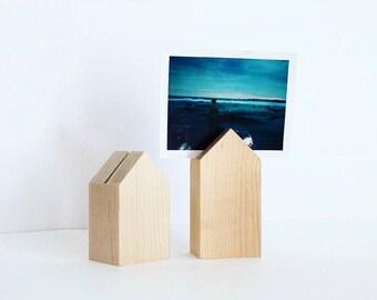 Wood Photo Stand