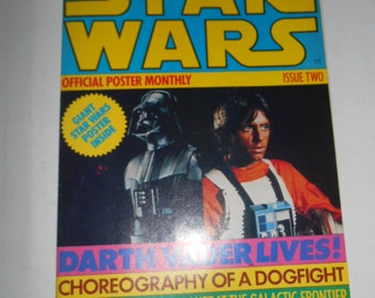 1977 Star Wars Official Poster Monthly (Episode IV)  Issue #2
