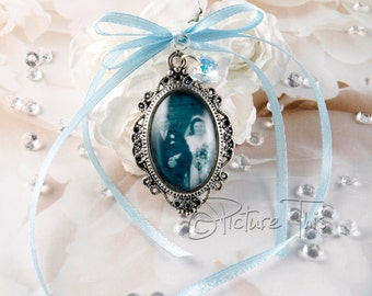 Wedding Bouquet charm, Custom Bouquet charm, Bouquet photo frame, Bridal Bouquet photo frame, Bouquet pendant, Bouquet Brooch, Memory Charm.