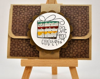 Christmas Pop Up Gift Card Holder