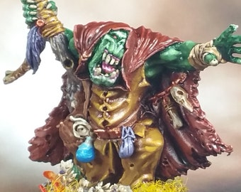 Orc Shaman Avatars of War 28mm metal Well Painted