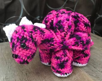 Amamani Crochet Dinosaur Puzzle Ball