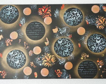Chinese new year painting acrylic painting