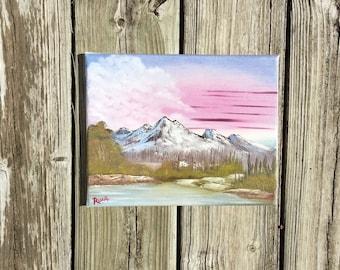 Original Mountain Painting