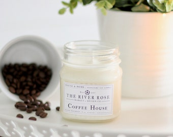 Coffee House | 100% Natural Soy Candle | Hand-Poured