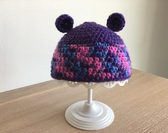 Purple Colorful Kids Hat