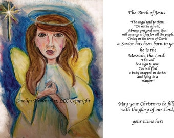 Angel of the Lord Christmas Cards Package of 20